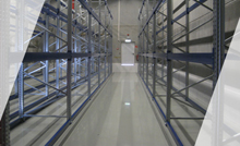 Conductive EP-WHG coating in a store room